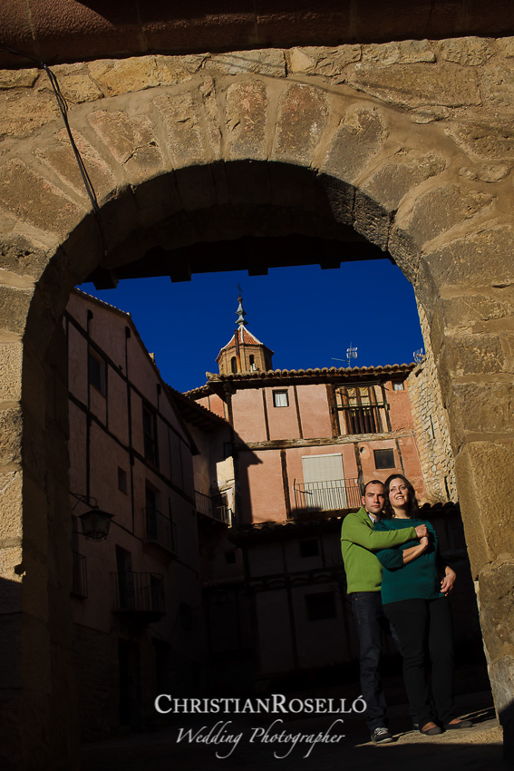 REPORTAJE PRE BODA EN ALBARRACÍN TERUEL