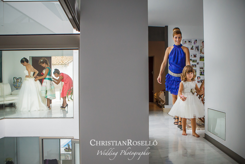 Boda en el Huerto de Santa Maria, El Puig Valencia. Ferran y Ana. Christian Roselló Fotografo de Bodas con sede en Valencia