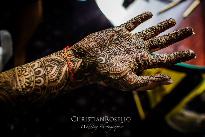 Mehndi Ceremony Indian Wedding in Hotel SH Valencia Palace, Divya & Pavan. Christian Roselló Wedding Destination Photographer
