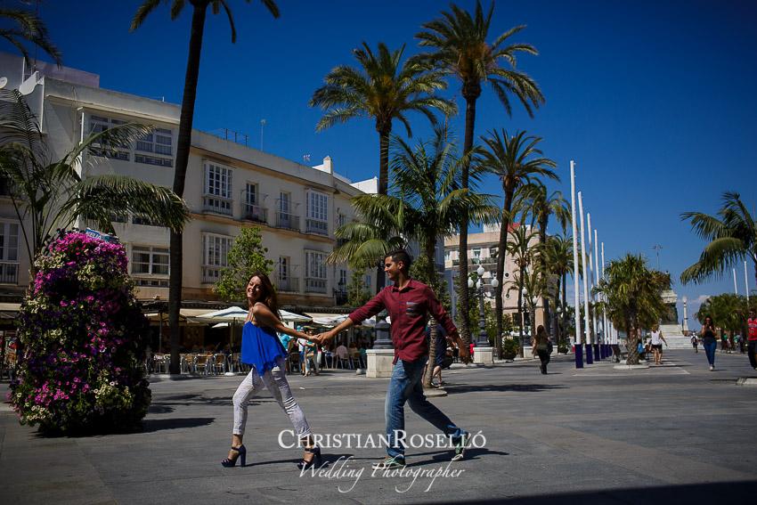 Reportaje Pre Boda en Cadiz Yolanda y Jose, Christian Roselló Fotógrafo de Bodas en Cadiz, con sede en Valencia