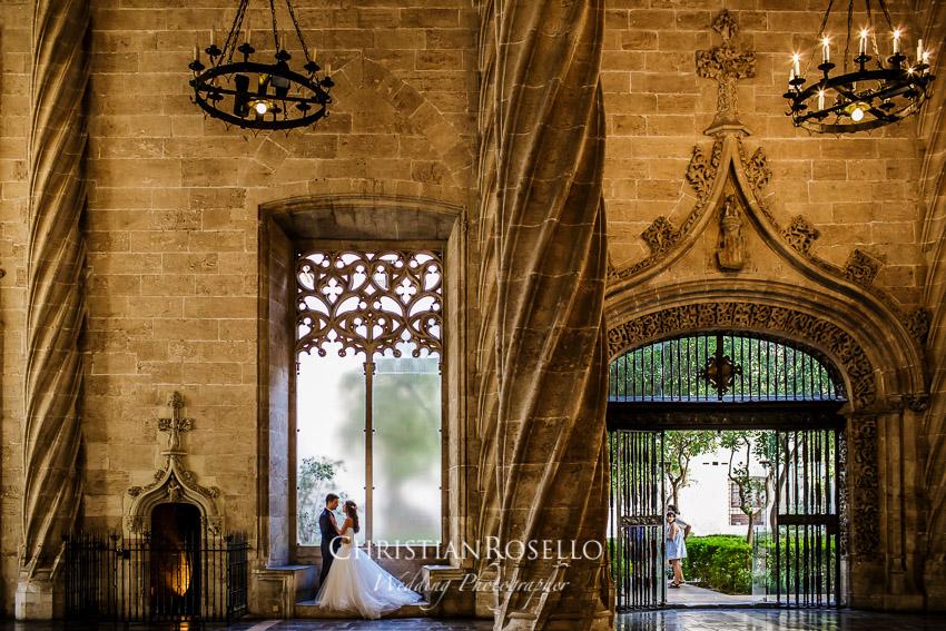Post Boda en Huerto Santa Maria, La Lonja de la Seda, Natalia e Iván. Christian Roselló Fotógrafo de bodas en Valencia