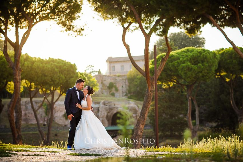 Post Boda en Roma, Arco di Costantino, Mª Jesús y Oscar. Christian Roselló, Wedding Photographer in Rome, based in Valencia Spain