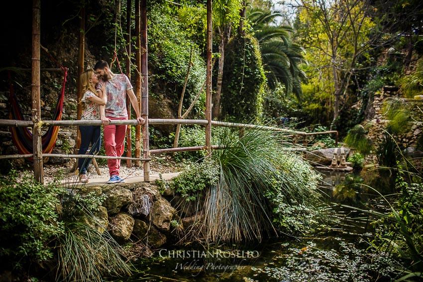 Pre Boda en Altea Alicante Carla y Toni. Jardín de los Sentidos. Christian Roselló Fotógrafo de Bodas en Alicante, con sede en Valencia.