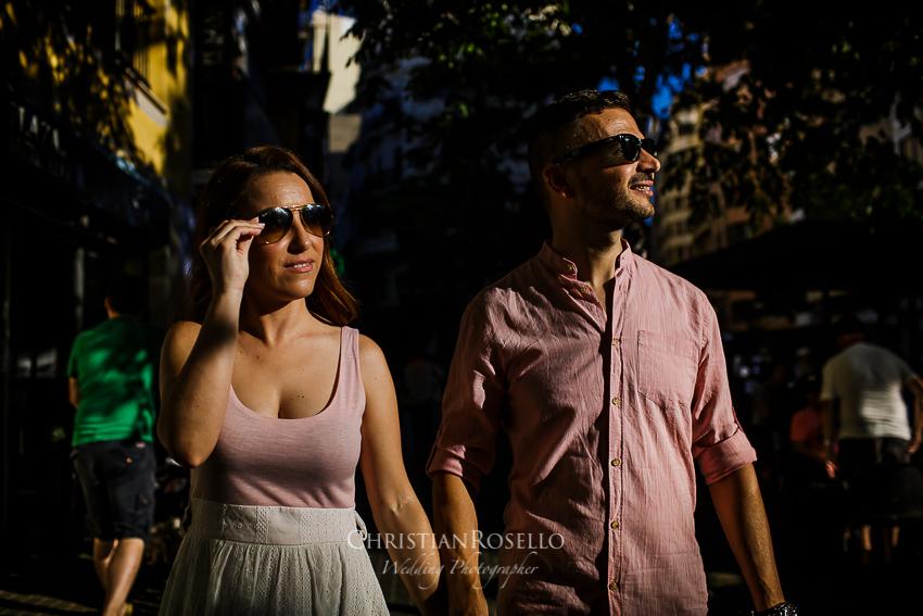 Reportaje Pre Boda en La Albufera de Valencia María y Jose. Mercado Central de Valencia. Christian Roselló Fotógrafo de Bodas en Valencia.