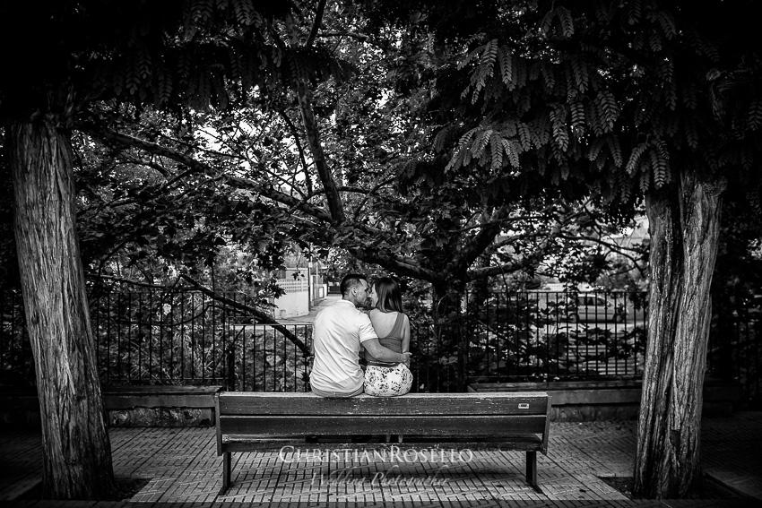 Pre Boda en el Salto de la Novia Lucía y Daniel, Segorbe. Christian Roselló Fotógrafo de bodas nacional e internacional con sede en Valencia.