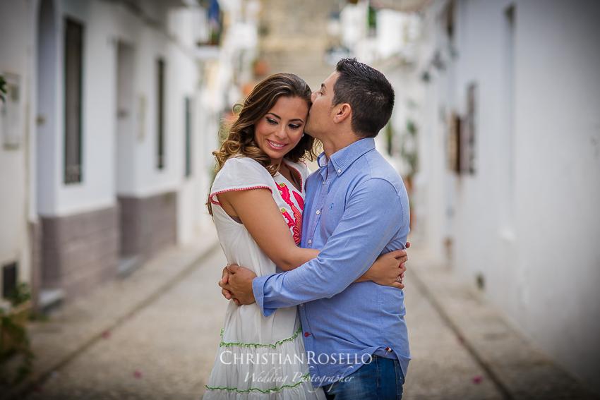 Reportaje Pre Boda en Altea Alicante Cristina y Fede. Christian Roselló Fotógrafo de bodas nacional e internacional con sede en Valencia.