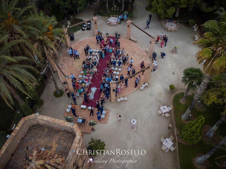 Reportaje Boda en Jardines La Cartuja Beatriz y Alex. Christian Roselló Fotógrafo de Bodas nacional e internacional con sede en Valencia