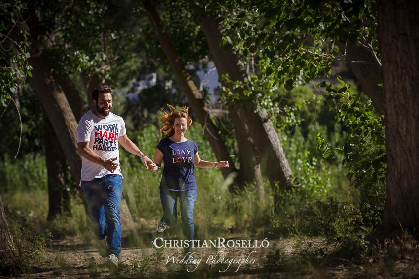 Reportaje Pre Boda en Alcalá del Jucar, Albacete. Laura y Juanfran. Christian Rosello Fotógrafo de Bodas en Albacete, con sede en Valencia
