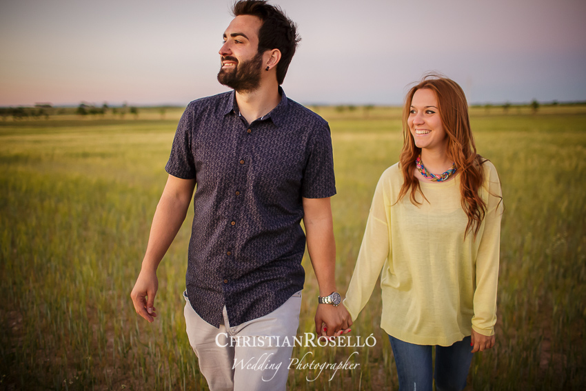 Reportaje Pre Boda en Alcalá de la Selva, Albacete. Laura y Juanfran. Christian Rosello Fotógrafo de bodas en Albacete, con sede en Valencia