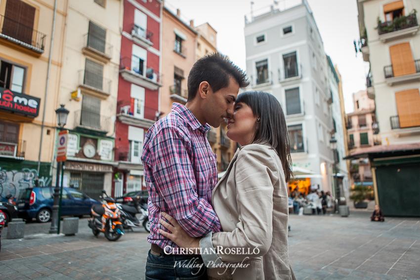 Reportaje preboda en Lonja de Valencia, Patricia y Jose, Christian Roselló, Fotografo de boda en Valencia, Destination Wedding Photographer
