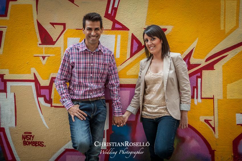 Reportaje preboda Centro Valencia, Patricia y Jose, Christian Roselló, Fotografo de boda en Valencia, Destination Wedding Photographer